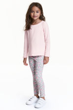 Leggings - Grey/Spotted - Kids | H&M CN 1