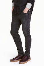 Skinny Regular Jeans - Nero Washed out - UOMO | H&M IT 1