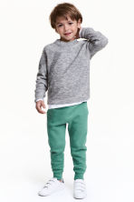 Sweatpants - Green -  | H&M 1