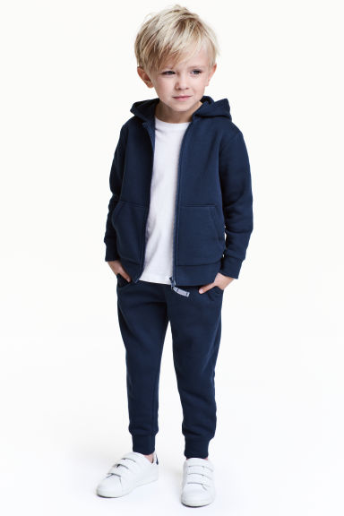 Sweatpants - Dark blue -  | H&M 1