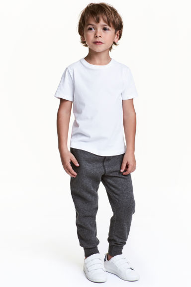 Sweatpants - Dark grey marl -  | H&M CN 1