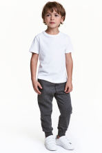Sweatpants - Dark grey marl - Kids | H&M CN 1