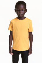T-shirt in cotone - Giallo -  | H&M IT 1
