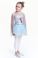 Metallic print cape  - Powder pink/Stars - Kids | H&M 1