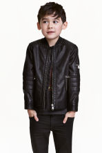 Giubbotto da biker - Nero -  | H&M IT 1