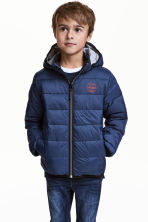 Padded jacket - Dark blue - Kids | H&M 1