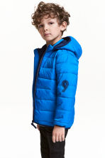 Padded jacket - Cornflower blue - Kids | H&M 1