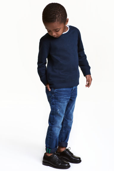 Relaxed Tapered Jeans - Blu denim - BAMBINO | H&M IT 1