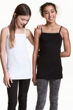 2-pack jersey tops - Black -  | H&M CN 1