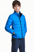 Lightly padded jacket - Cornflower blue - Kids | H&M CN 1