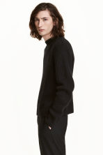 Mohair-blend jumper - Black - Men | H&M CN 1