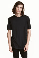 Wool T-shirt - Black - Men | H&M 1