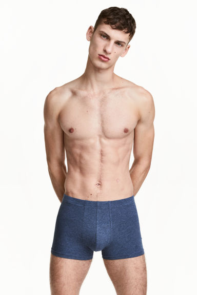 Boxer, 3 pz - Blu scuro mélange - UOMO | H&M IT