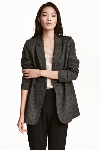 Double-breasted jacket Model