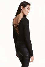 Laced body - Black - Ladies | H&M CN 1