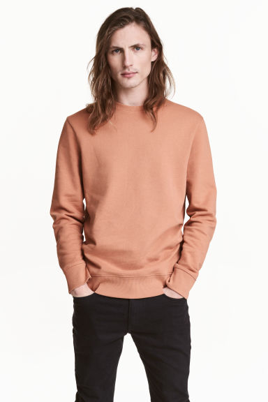 Sweatshirt - Light camel - Men | H&M