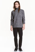 Chinos Skinny fit - Black - Men | H&M CN 1