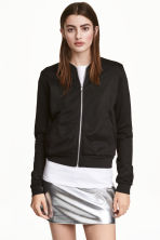 Sweatshirtjacka - Svart - Ladies | H&M FI 1