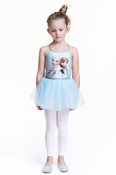 Tutù con gonna in tulle - Azzurro/Frozen -  | H&M IT 1