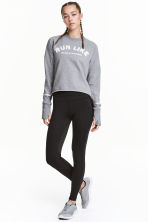 Running tights - Black - Ladies | H&M 1
