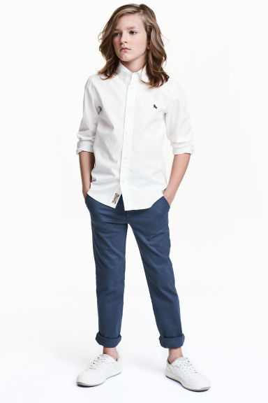 Slim Fit Chino - Mavi -  | H&M TR