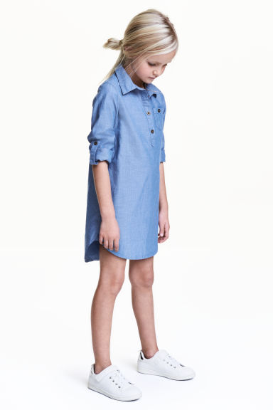 Chemisier - Blu denim - BAMBINO | H&M IT 1