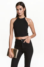 Top corto - Nero - DONNA | H&M IT 1