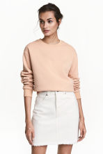 Gonna in twill - Bianco naturale - DONNA | H&M IT 1