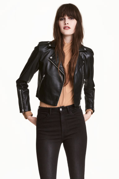 Giubbotto biker - Nero - DONNA | H&M IT