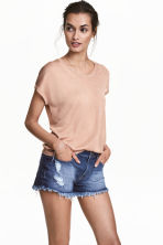 Top in maglia fine - Beige - DONNA | H&M IT 1