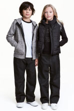 Shell trousers - Black - Kids | H&M 1