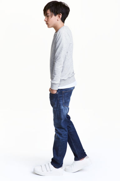Relaxed Jeans - Dark denim blue - Kids | H&M
