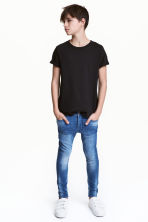 Superstretch Skinny fit Jeans - 牛仔蓝 - 儿童 | H&M CN 1