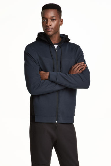 Hooded sports jacket Model