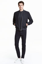 Twill trousers Slim fit - Dark blue - Men | H&M CN 2