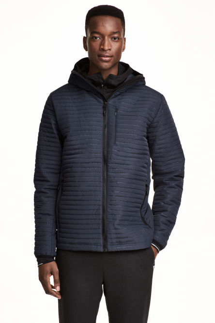 Quilted outdoor jacket