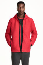 Quilted outdoor jacket - Red - Men | H&M CN 1