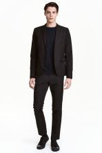 Suit trousers Slim fit - Black - Men | H&M 2