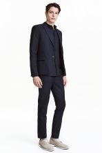 Suit trousers Slim fit - 深蓝色 - Men | H&M CN 3