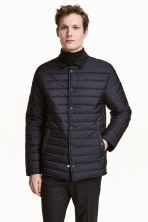 Quilted jacket - Dark blue - Men | H&M 1