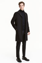 Coat - Black - Men | H&M CN 1