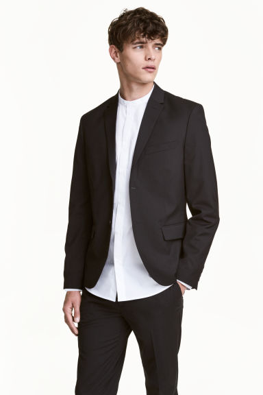 Jacket Regular fit - Black - Men | H&M CN 1