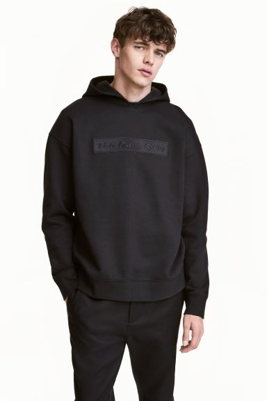 Hooded top with a motif - Black/Star Wars - Men | H&M 1