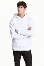 Hooded top with a motif - White/Star Wars - Men | H&M 1
