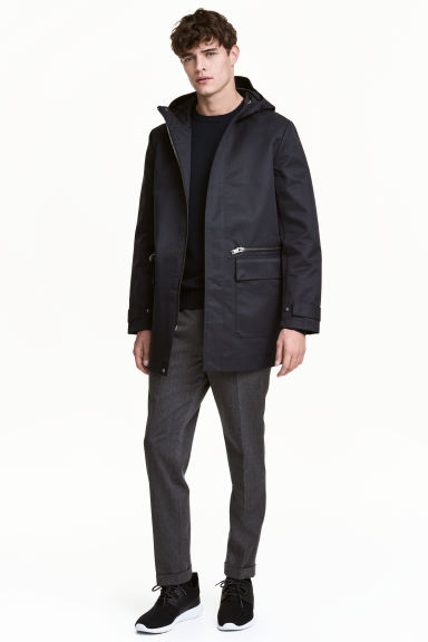 Hooded jacket - Black - Men | H&M 1