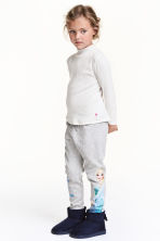 Printed sweatpants - Grey/Frozen - Kids | H&M CN 1