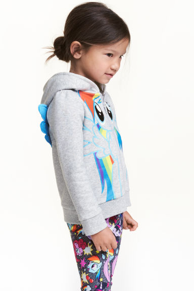 Veste à capuchon - Gris clair/My Little Pony - ENFANT | H&M CA
