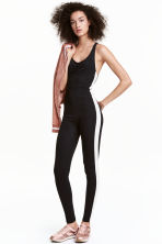 Jumpsuit - Black - Ladies | H&M 1