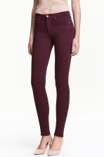 Shaping Skinny Regular Jeans - Plum - Ladies | H&M CN 1