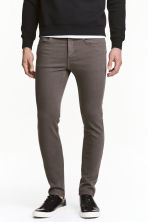 Super Skinny Jeans - Dark grey - Men | H&M 1